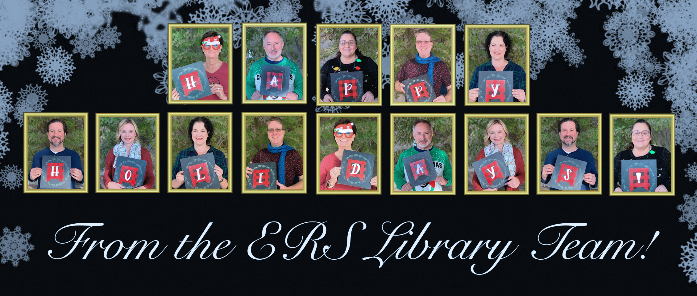 Happy Holidays from the ERS Library Team!